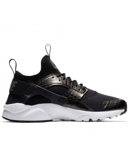 sneaker enfant Nike noir Boys' nike air huarache run ultra (gs) shoe 847569-021
