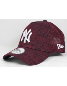 casquette ronde reglable Newera bordeaux Engineered fit neyyan