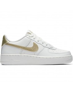 Girls' nike air force 1 (gs) shoe 314219-127
