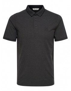 polo homme Only&Sons noir Onsstan ss fitted polo tee noos