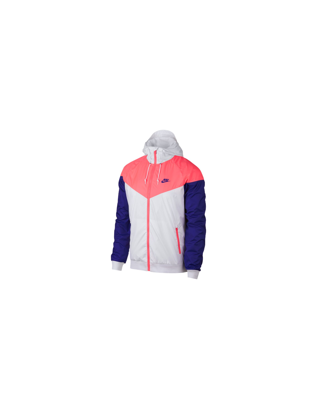 new product d9932 7277a veste homme Nike rose Mens nike sportswear windrunner jacket 727324-104
