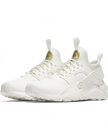 sneaker Nike blanc Girls' nike air huarache run ultra (gs) shoe 847568-102