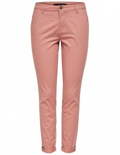 pantalon chino femme Only rose Onlparis reg sk chino pants pnt akm noos