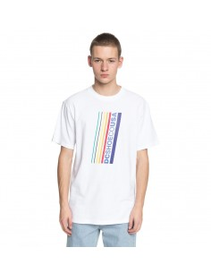 t-shirt homme Dc Shoes blanc Laced break ss EDYZT03761-WBB0