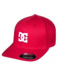 casquette flexifit homme Dc Shoes rouge Cap star 2