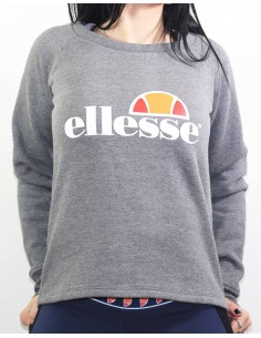 sweat court femme Ellesse gris Eh f cropped sws