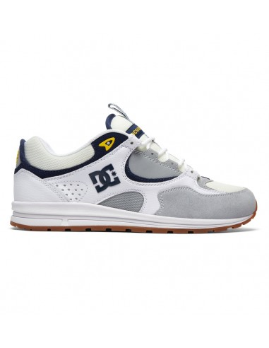 skate shoes homme DC SHOES blanc Kalis lite ADYS100291-WYY