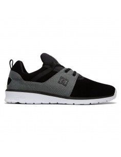 skate shoes homme DC SHOES noir Heathrow se ADYS700073-BW8
