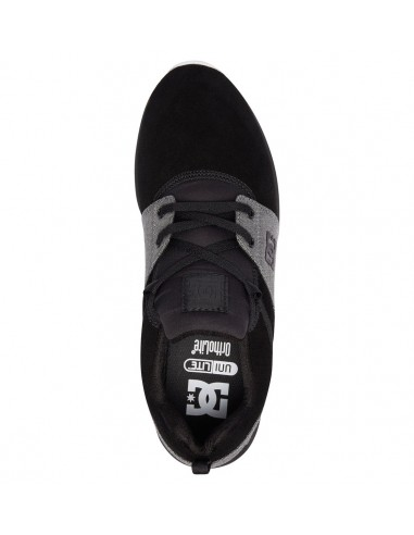 chaussure homme DC SHOES noir Heathrow se ADYS700073-BW8