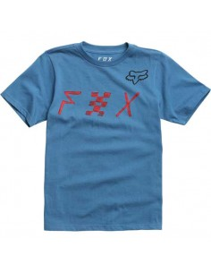t-shirt enfant Fox bleu Youth mind blown ss tee 21007-157