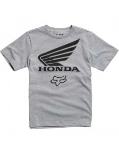 tee-shirt enfant Fox gris Youth fox honda ss tee 21010-416