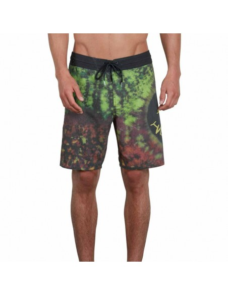 boardshort homme Volcom multi Chill out stoney