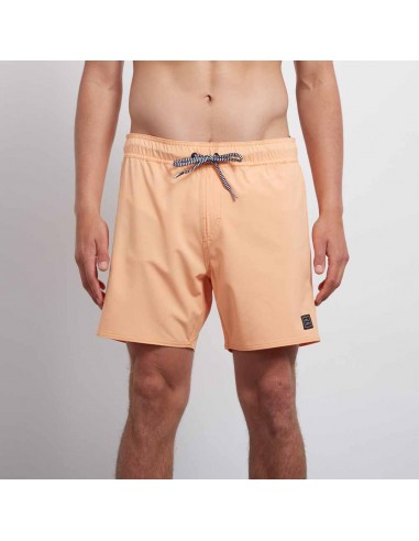 short de bain homme Volcom orange Case stoney 16