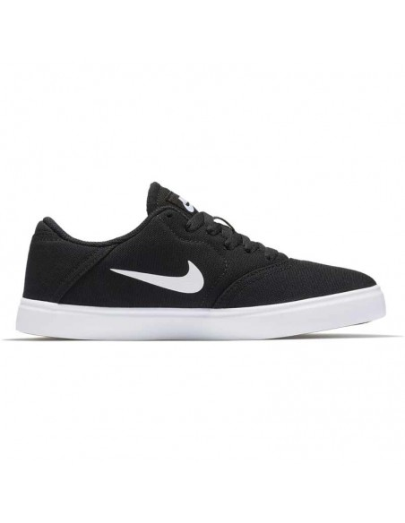 Boys' nike sb check canvas (gs) skateboarding shoe 905373-003