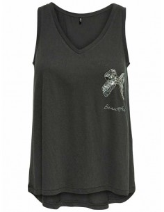 Onlflaxa embellishment tank top box jrs