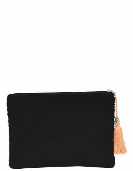 pochette Only noir Onlnizza sequence clutch acc