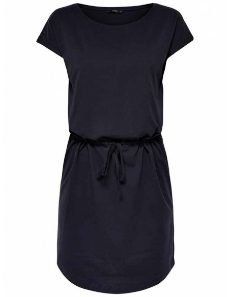 Robe Only bleu Onlmay s/s dress noos