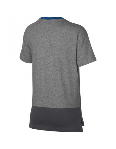 T-shirt enfant Nike gris Boys' nike air top 892463-063