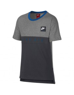 Tee-shirt enfant Nike gris Boys' nike air top 892463-063