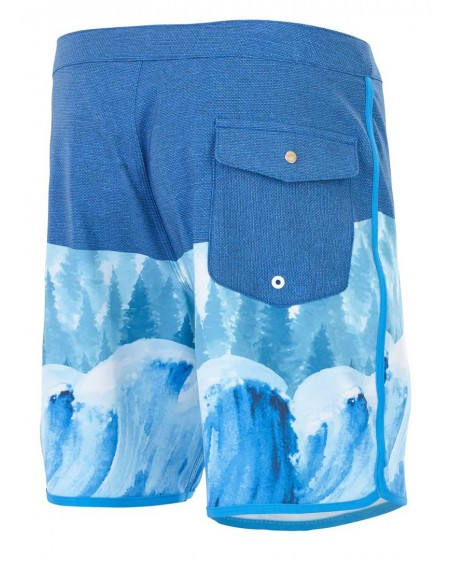 short homme Picture bleu Andy 17