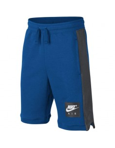 short enfant Nike bleu Boys' nike air shorts 903659-465
