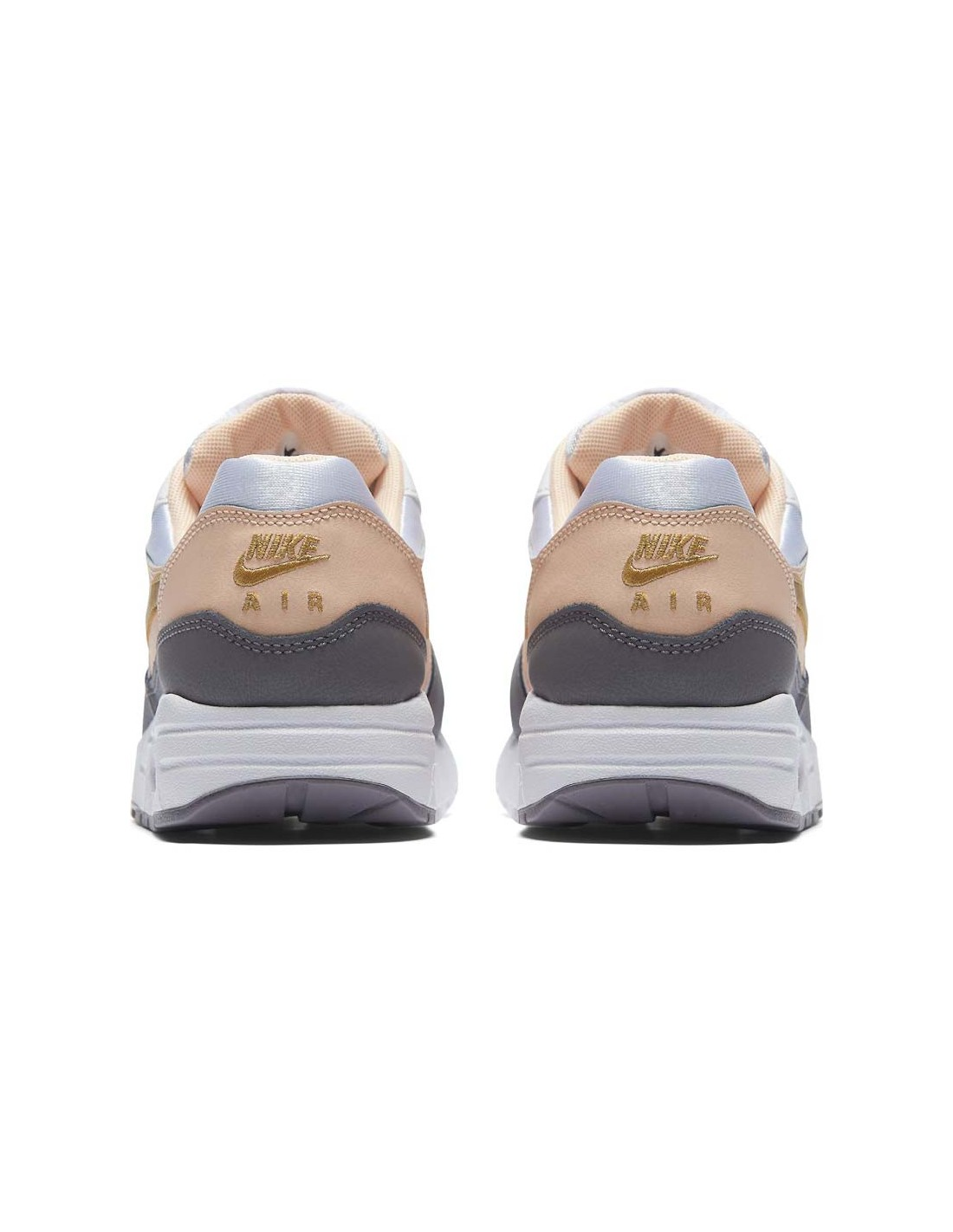 Baskets NIKE Girls' nike air max 1 (gs) Chaussure 807605 104 WHITE