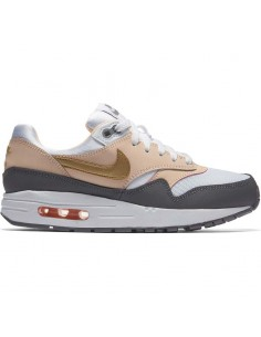 Girls' nike air max 1 (gs) shoe 807605-104