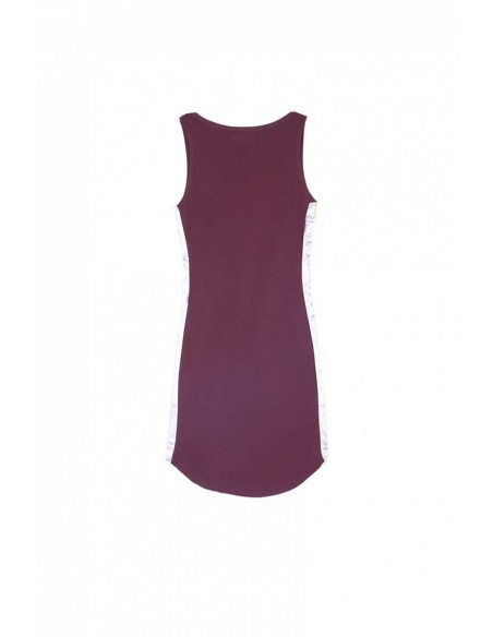 robe femme sixth june bordeaux Short dress with sides band