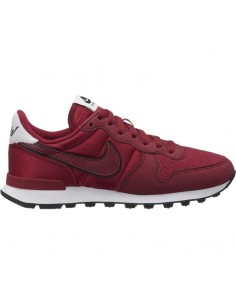 sneaker femme nike bordeaux Nike internationalist heat AQ1274-600