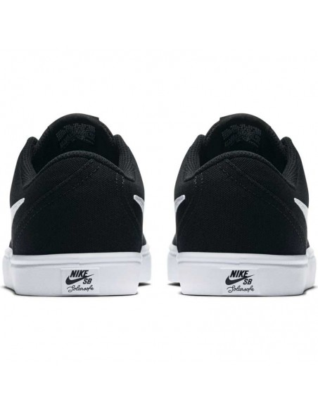 basket homme nike noir Nike sb check solarsoft canvas 921463-010