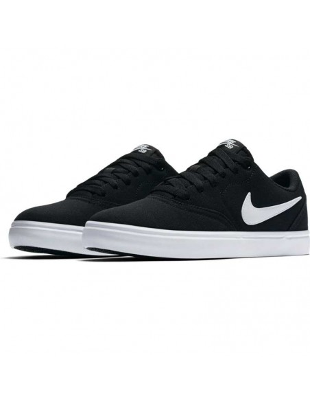 skate shoes homme nike noir Nike sb check solarsoft canvas 921463-010