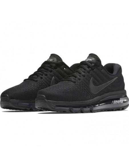 basket enfant nike noir Boys' nike air max 2017 (gs) running shoe 851622-004