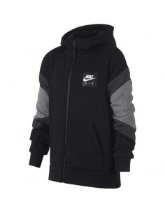 sweat zippe enfant nike noir Nike air full zip hooded 939635-010