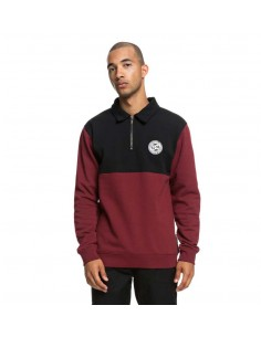 sweat homme DC bordeaux Dellwood polo