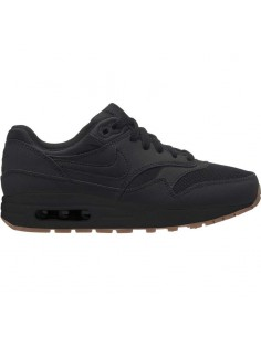 sneaker enfant Nike noir Boys' nike air max 1 (gs) shoe 807602-008
