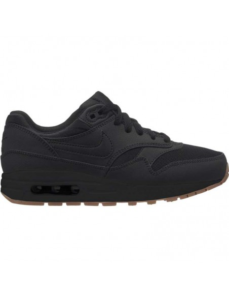 Boys' nike air max 1 (gs) shoe 807602-008
