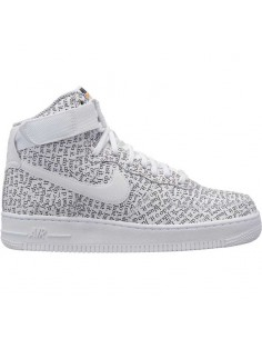 sneaker enfant nike blanc Nike air force 1 high lx AO5138-100
