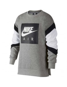 sweat enfant nike gris Nike air sweat shirt nsw air crew AJ0114-063