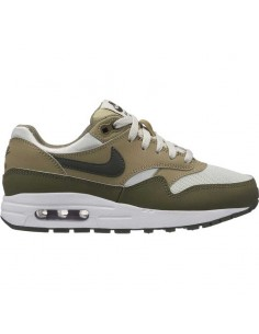 sneaker enfant nike kaki Boys' nike air max 1 (gs) shoe 807602-200