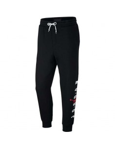 pantalon homme Jordan noir Jordan sportswear jumpman air graphic fleece men's AA1454-010