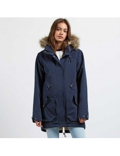 veste femme volcom bleu Less is more parka