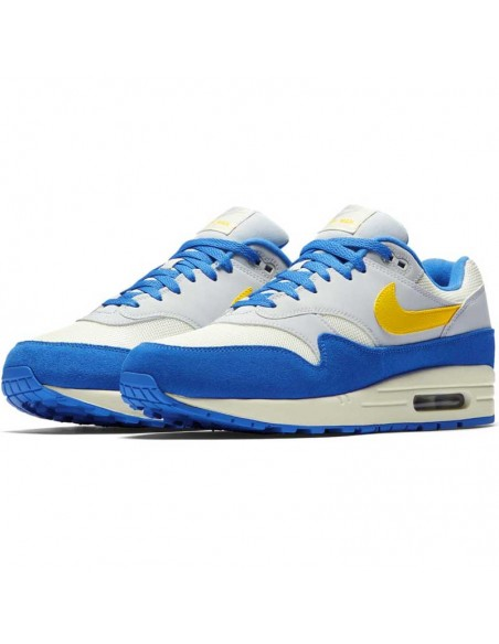 basket homme nike bleu Men's nike air max 1 shoe AH8145-108