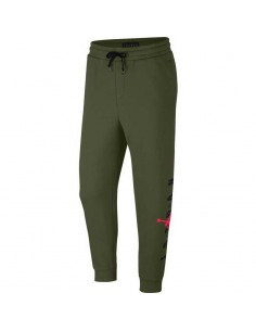 sweatpant homme Jordan kaki Jordan sportswear jumpman air graphic fleece men's AA1454-395