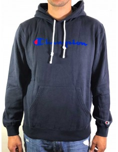 sweat capuche homme Champion bleu Hooded sweatshirt - 212172