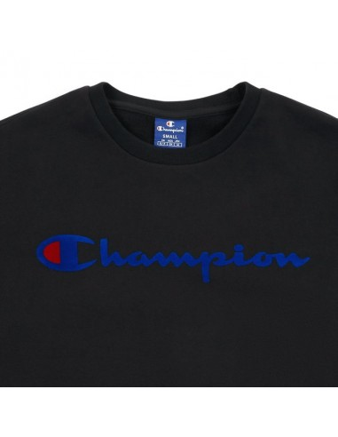 sweat col rond Champion noir Crewneck sweatshirt - 212428