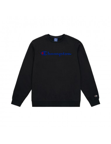 sweat col rond homme Champion noir Crewneck sweatshirt - 212428