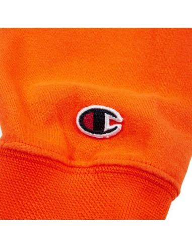 sweat Champion orange Crewneck sweatshirt - 212428
