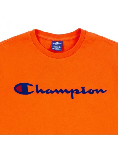 sweat col rond Champion orange Crewneck sweatshirt - 212428