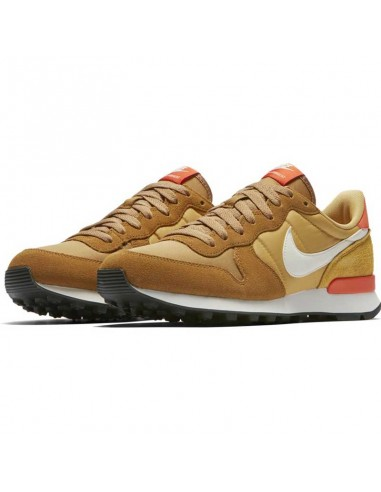 basket femme nike orange Nike internationalist women's shoe 828407-207