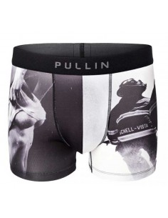 calecon homme Pull-in noir Boxer master 911